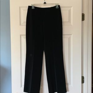 WHITE HOUSE BLACK MARKET black straight leg pants